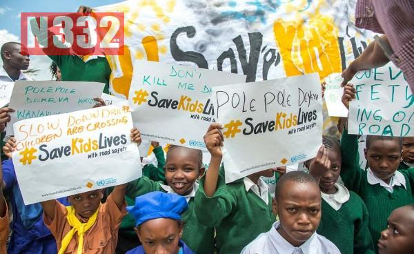 Global Road Safety Week Campaign Launched